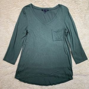 Cable & Gauge 3/4 Sleeve T-Shirt